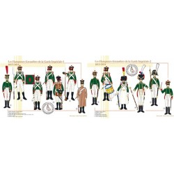 Les Flanqueurs-Grenadiers de la Garde Impériale, 1813-1814