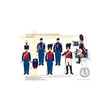 Les gendarmes de la Garde Impériale, 1854-1870