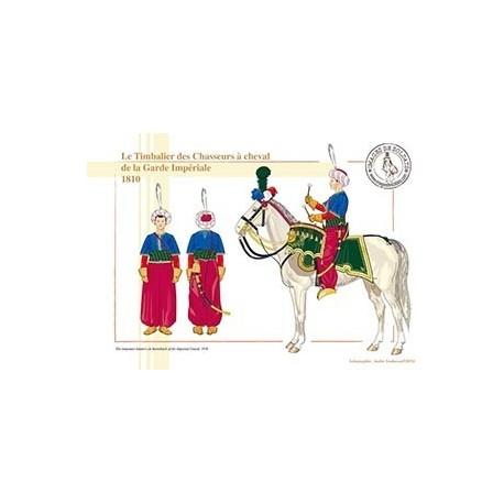 Le Timbalier des Chasseurs à cheval de la Garde Impériale, 1810