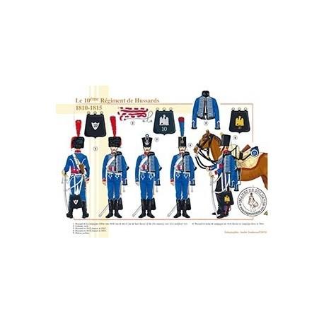 Le 10ème Régiment de Hussards, 1810-1815
