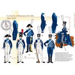 La Garde d'Honneur de Lille, 1803-1810