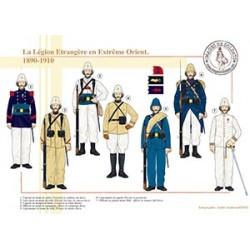La Légion Etrangère en Extrême Orient, 1890-1910