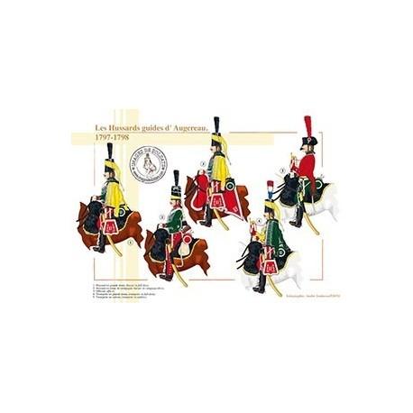 Les Hussards guides d'Augereau, 1797-1798