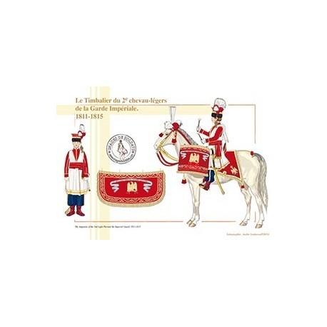 Le Timbalier du 2e chevau-légers de la Garde Impériale, 1811-1815