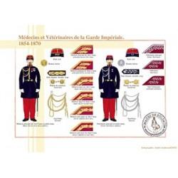Médecins et Vétérinaires de la Garde Impériale, 1854-1870