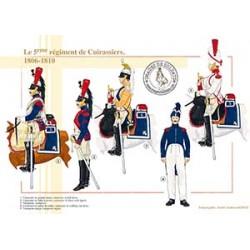 Le 5ème régiment de Cuirassiers, 1806-1810