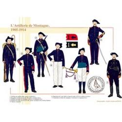 L'Artillerie de Montagne, 1905-1914