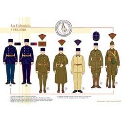 La Coloniale, 1935-1940