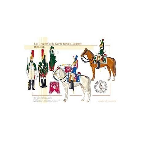 Les Dragons de la Garde Royale Italienne, 1804-1812