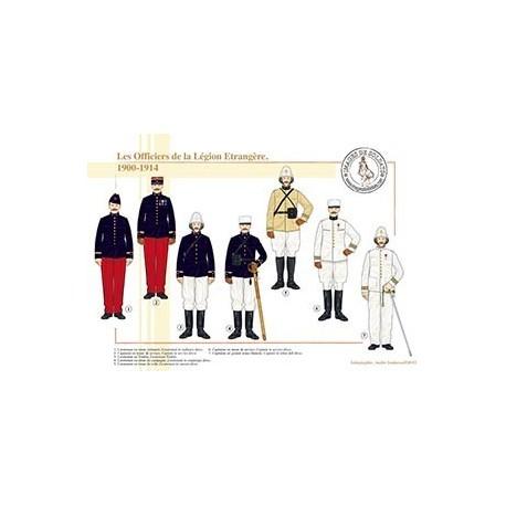 Les Officiers de la Légion Etrangère, 1900-1914