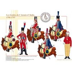 Les Guides de l'Armée d'Italie, 1796-1797