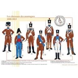 Les chasseurs des montagnes, 1808-1813