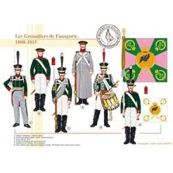 Les Grenadiers de Fanagorie, 1808-1815