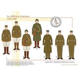 Les Officiers Généraux, 1935-1940