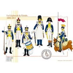La Légion de la Vistule, 1808-1813