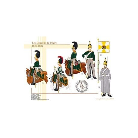 Les Dragons de Pskov, 1810-1812