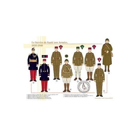Le Service de Santé aux Armées, 1935-1940