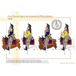 Les Chevau-légers du royaume de Wurtemberg, 1812