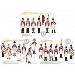 Le 3ème Régiment Suisse, 1806-1815