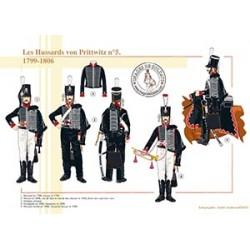 Les Hussards von Prittwitz n°5, 1799-1806