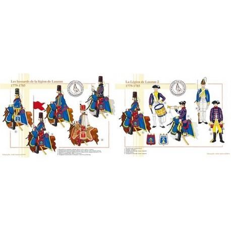 La Légion de Lauzun, 1779-1785