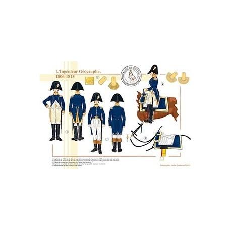 L'Ingénieur Géographe, 1806-1815