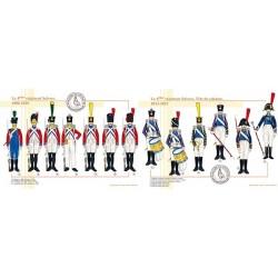 Le 4ème régiment Suisses, 1806-1815