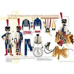 L'Aide de Camp en tenue à la hussarde, revue de détails, 1804-1815