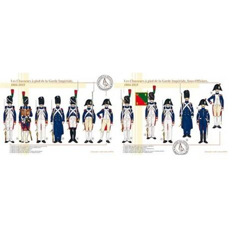 Les Chasseurs à pied de la Garde Impériale, 1804-1815