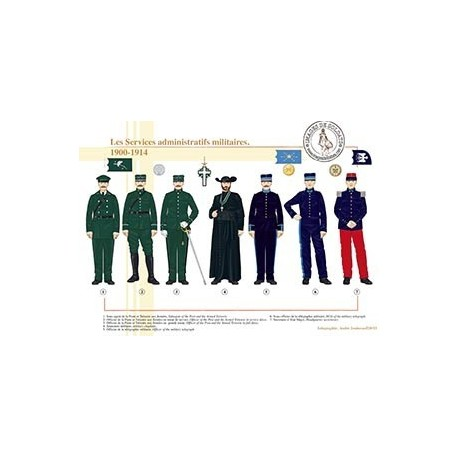 Les Services administratifs militaires, 1900-1914