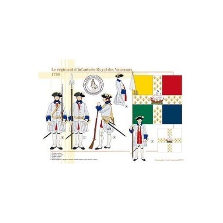 Le régiment d'infanterie Royal des Vaisseaux, 1758