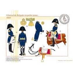 Général de Brigade en petite tenue, 1810