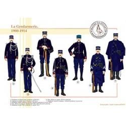 La Gendarmerie, 1900-1914