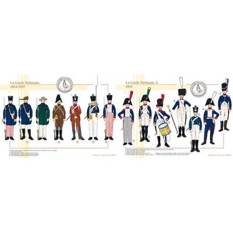 La Garde Nationale, 1814-1815