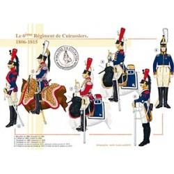 Le 6ème Régiment de Cuirassiers, 1806-1815