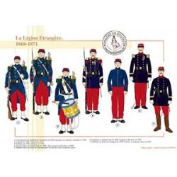 La Légion Etrangère, 1868-1871
