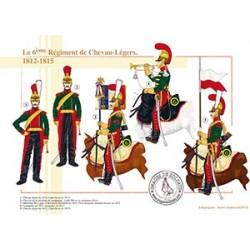 Le 6ème Régiment de Chevau-Légers, 1812-1815