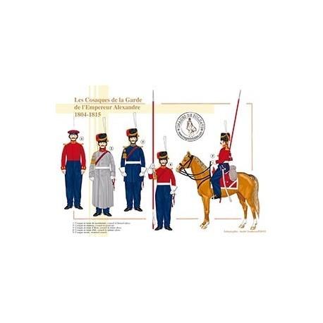 Les Cosaques de la Garde de l'Empereur Alexandre, 1804-1815