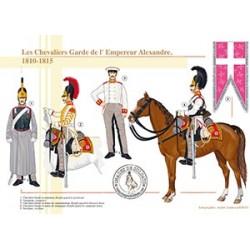 Les Chevaliers Garde de l'Empereur Alexandre, 1810-1815