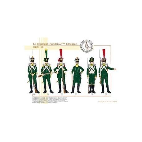 Le Régiment Irlandais, 3ème Etranger, 1808-1811