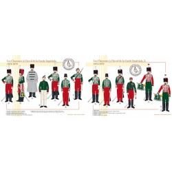 Les Chasseurs à Cheval de la Garde Impériale, 1854-1870