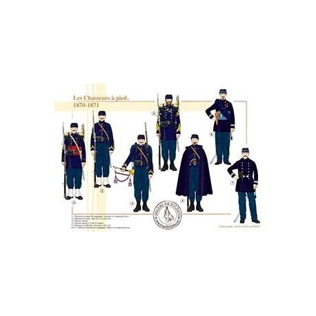 Les Chasseurs à pied, 1870-1871
