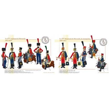 Le 4ème Régiment de Hussards, 1806-1815