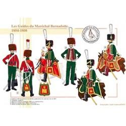 Les Guides du Maréchal Bernadotte, 1804-1808
