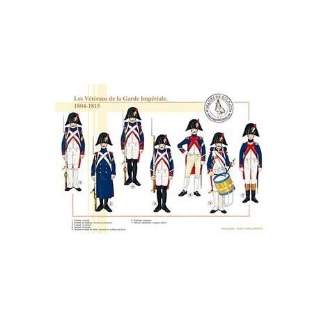Les Vétérans de la Garde Impériale, 1804-1815