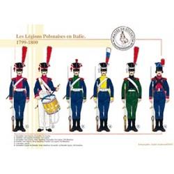 Les Légions Polonaises en Italie, 1799-1800