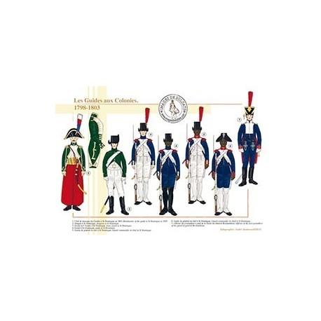 Les Guides aux Colonies, 1798-1803