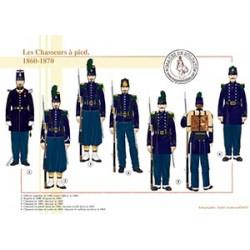 Les Chasseurs à pied, 1860-1870