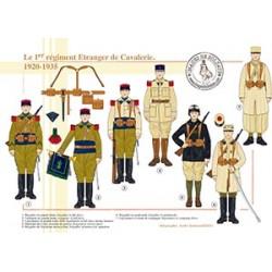 Le 1er régiment Etranger de Cavalerie, 1920-1935