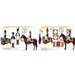 Les Grenadiers à cheval de la Garde Impériale, officiers, 1804-1815